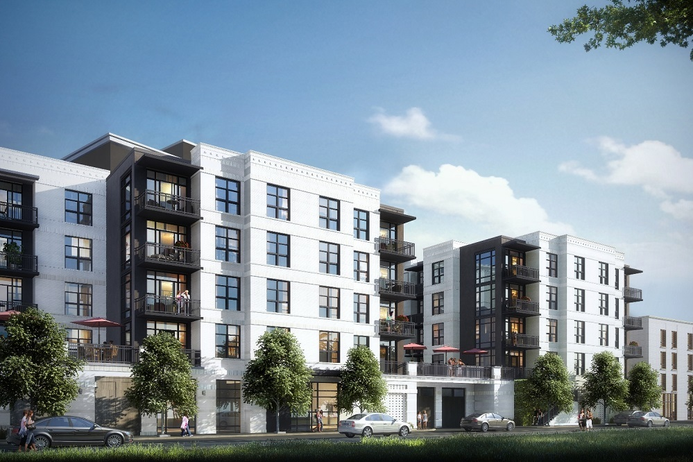 The Gadsden will be a fully amenitized condominium community with five stories over a level of parking.