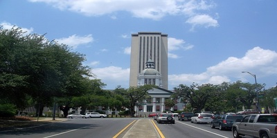 The capital building in Tallahassee.
