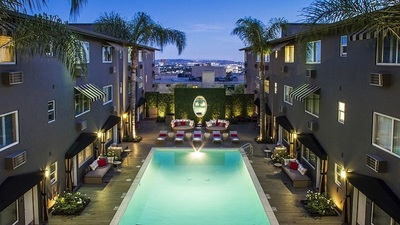 Grafton on Sunset, West Hollywood Boutique Hotel