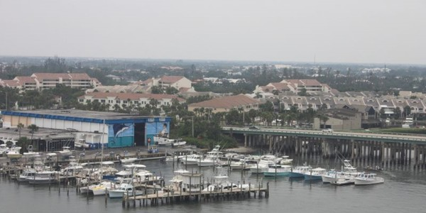 Large fla seasport marina at jupiter inlet