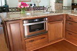 Microwave drawers are one of many space-saving options in the kitchen.