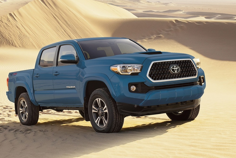 Tacoma can tow up to 6800 lbs. or bring along a payload of up 1440 lbs.