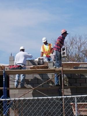 Medium construction workers