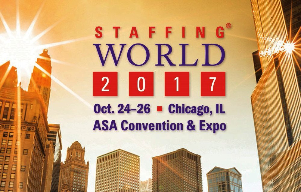 Staffing World 2017 is expected to draw almost 2,000 professional staffing industry attendees.