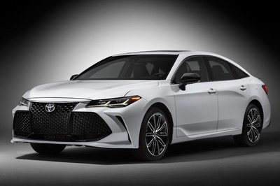 The 2019 Toyota Avalon has a sporty-looking exterior.