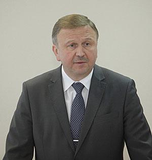 Belarus Prime Minister Andrei Kobyakov
