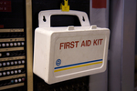First aid kits should be stored so that they are easily accessible.
