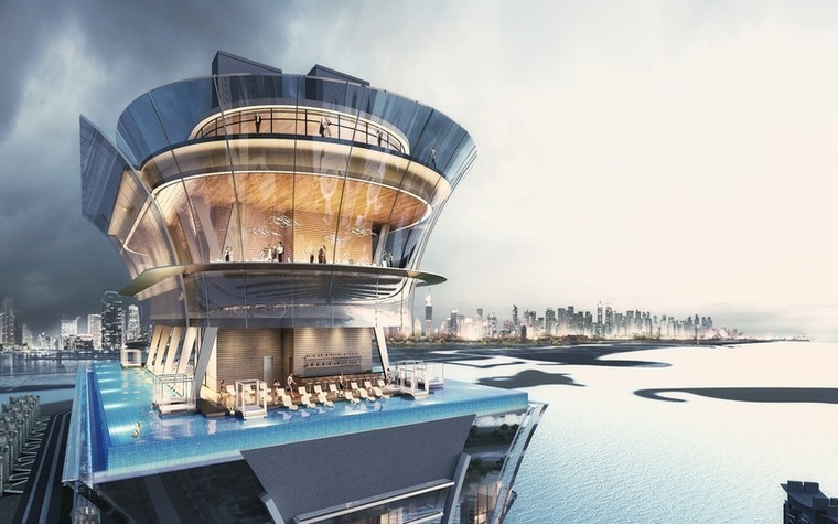 The St. Regis Dubai, The Palm is expected to open in 2018.