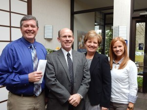 Hoover Financial Advisors raised $12,500 for the Chester County Food Bank
