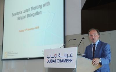 Dubai Chamber organizes business meeting with Belgian chamber