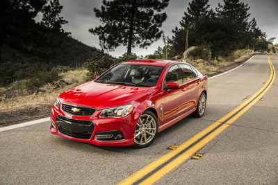The 2015 Chevrolet SS combines high performance with a refined sophistication.