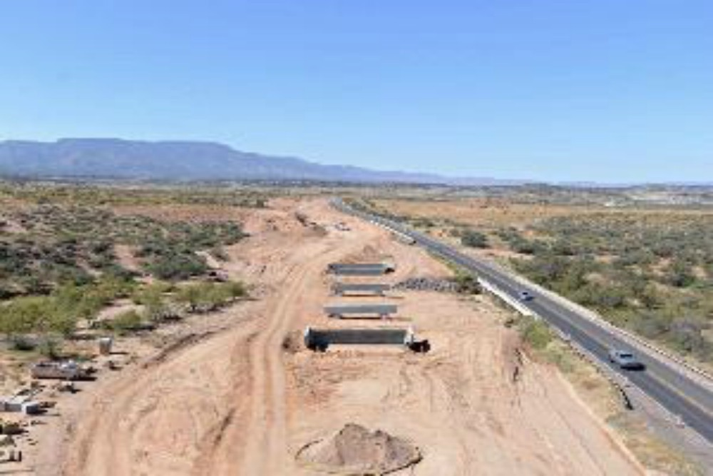 In the Verde Valley, 9 miles of State Route 260 west of Interstate 17 is being widened.