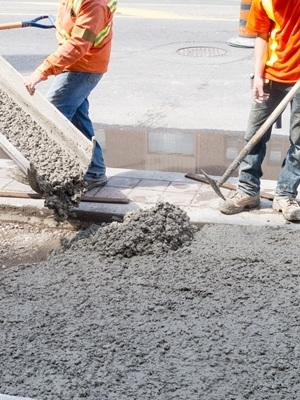 Large concrete workers