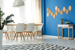 Accent walls offer a stylish burst of contrast to any room.
