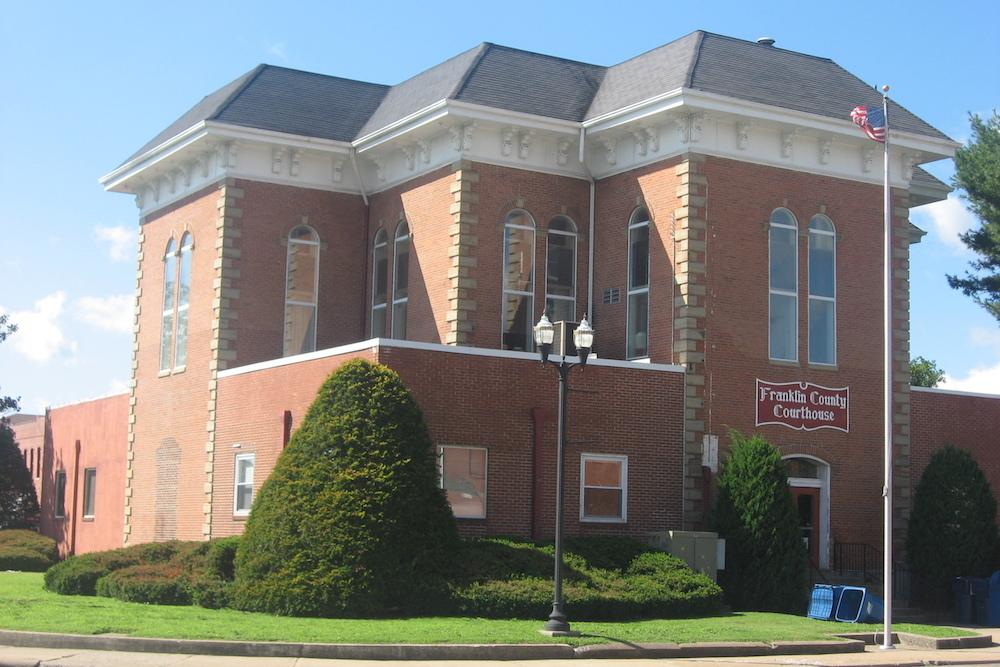 Franklin County Courthouse, Benton, Illinois