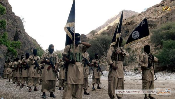 AQAP fighters in Yemen, 2014.