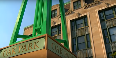 Medium oak park monument 1280