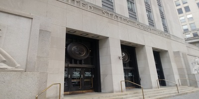 The federal courthouse in Philadelphia, home to the nation's asbestos MDL