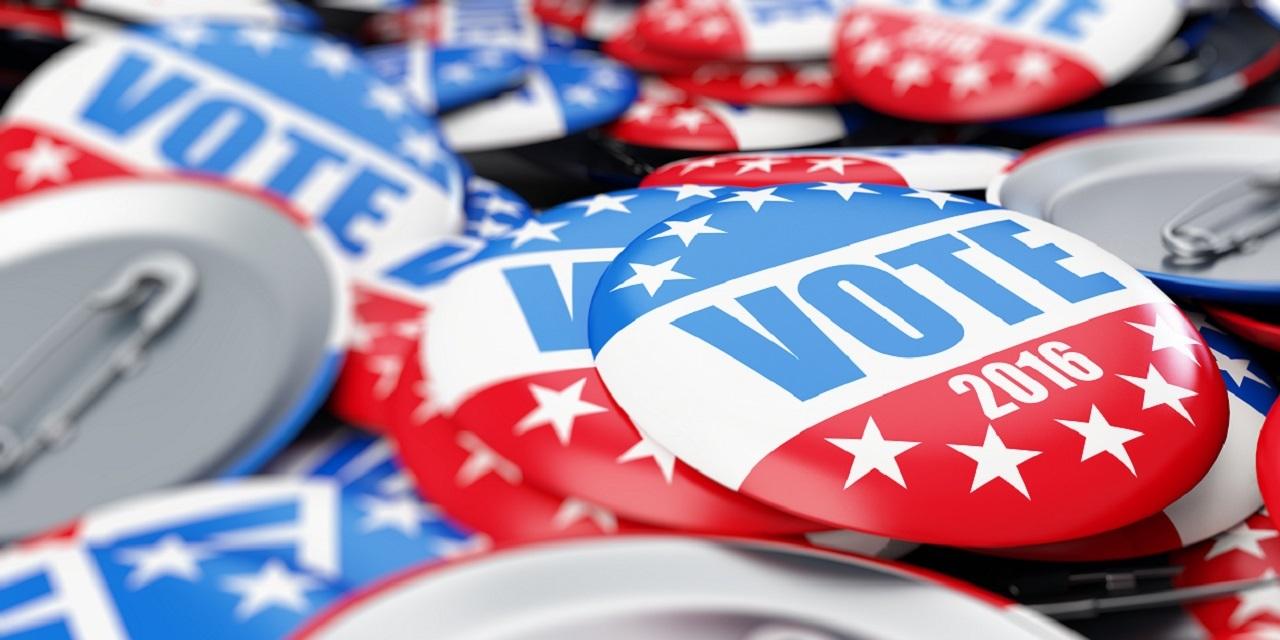Vote 2016 bucket