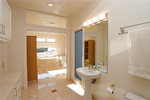 Bathrooms are constantly subjected to water and humidity, and the walls and floors pay a price.