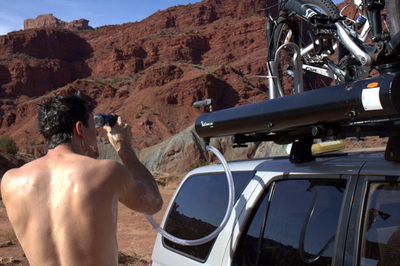 The Road Shower is one of KickStarter's more interesting campaigns.