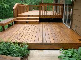 A sealant will protect your deck year-round.