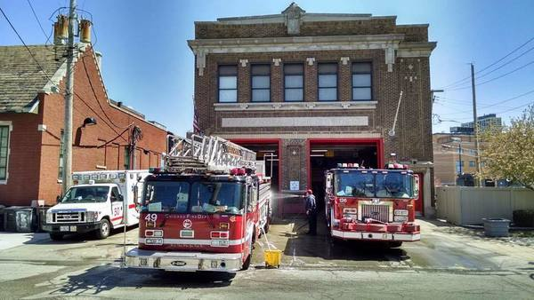Large chicago fire house