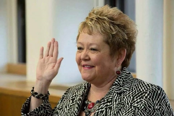 Rock Island County Clerk Karen Kinney, who won another term during Tuesday's elections