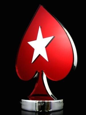 Large pokerstars trophy